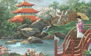 Paint by Numbers, Japanese Scene