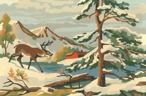 Paint by Numbers, Winter Scene