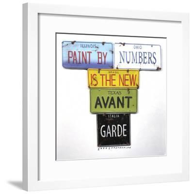 Paint By Numbers-Gregory Constantine-Framed Giclee Print