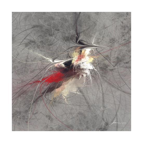 Paint Swirl I-James Burghardt-Art Print