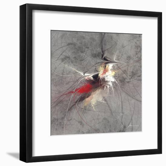 Paint Swirl I-James Burghardt-Framed Art Print