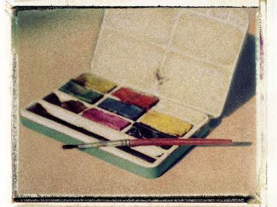 Paintbox by Jennifer Kennard-Jennifer Kennard-Photographic Print