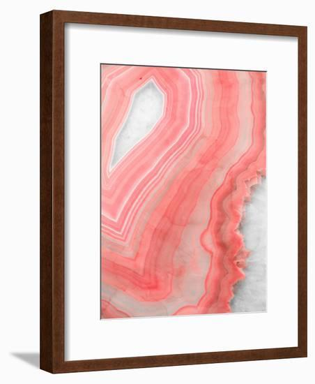 Painted Agate-Emanuela Carratoni-Framed Art Print