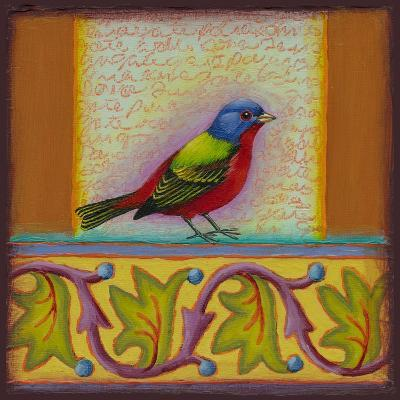 Painted Bunting-Rachel Paxton-Giclee Print