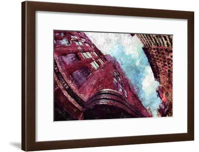 Painted City III-Jean-François Dupuis-Framed Art Print