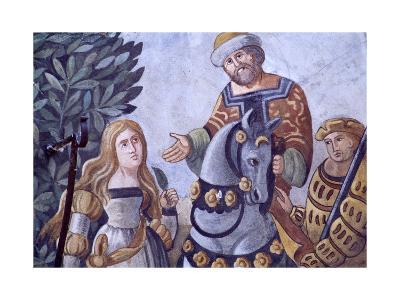 Painted Decoration from Zum Weissen Adler House--Giclee Print