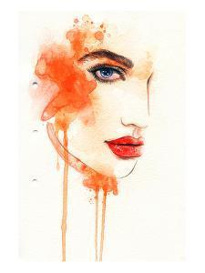 Painted Fashion Illustration