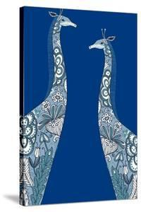 Painted Giraffes