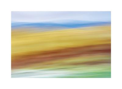 Painted Hills in Motion 4-Don Paulson-Giclee Print