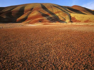 Painted Hills, John Day Fossil Beds National Monument, Oregon, USA-Charles Gurche-Photographic Print