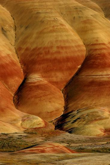 Painted Hills, John Day Fossil Beds National Monument, Oregon, USA- Marilyn Dunstan Photography-Photographic Print
