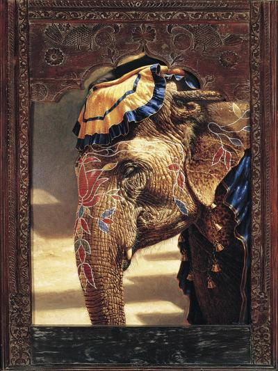 Painted Lady with Frame-Michael Jackson-Giclee Print