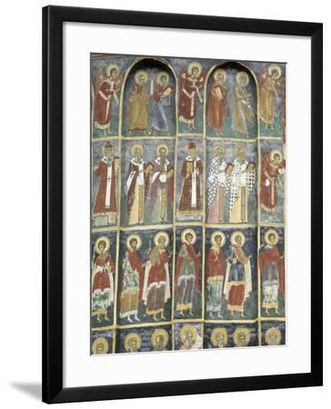 Painted Monastery of Sucevita, Moldavia, Southern Bucovina, Romania, Europe-Gary Cook-Framed Photographic Print