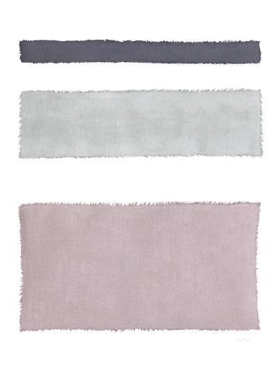 Painted Weaving IV on White-Piper Rhue-Art Print