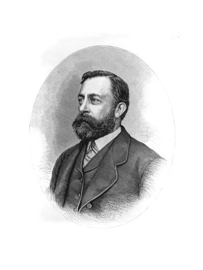 Painter Albert Bierstadt--Giclee Print