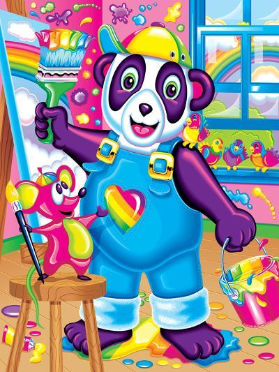 Painter and Doodles '97-Lisa Frank-Art Print