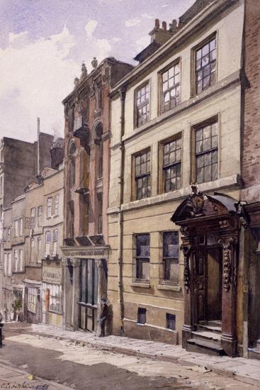 Painter-Stainers' Hall, Little Trinity Lane, London, 1888-John Crowther-Giclee Print