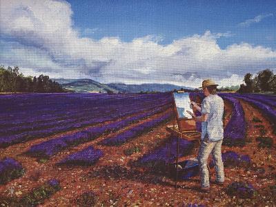 Painter, Vaucluse, Provence, 1998-Trevor Neal-Giclee Print