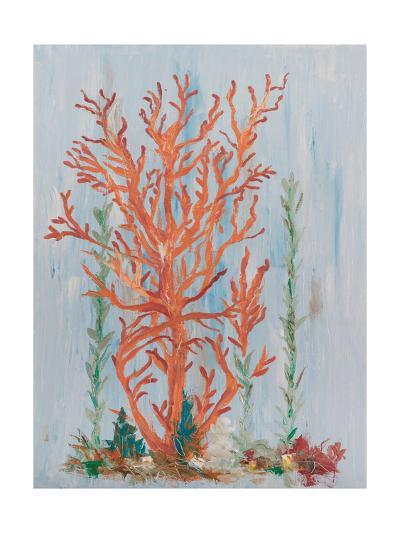 Painterly Coral II-Olivia Brewington-Art Print