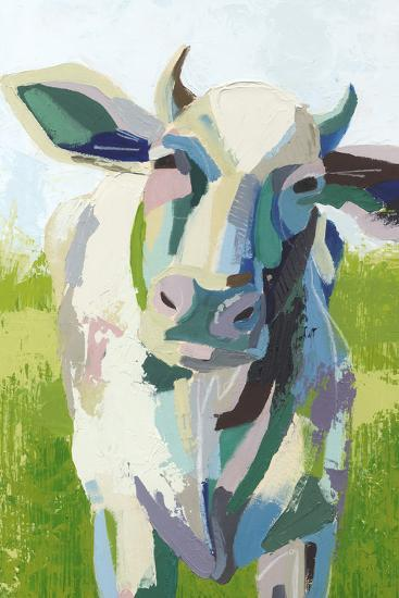 Painterly Cow II-Grace Popp-Art Print