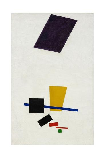 Painterly Realism of a Football Player ? Color Masses in the 4th Dimension-Kasimir Malevich-Giclee Print