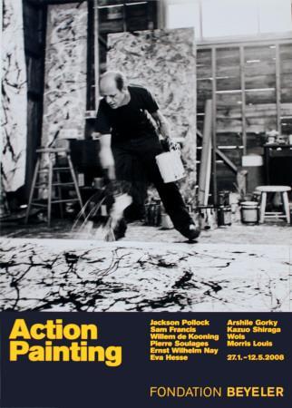 Painting Autumn Rhythm No. 30-Jackson Pollock-Art Print