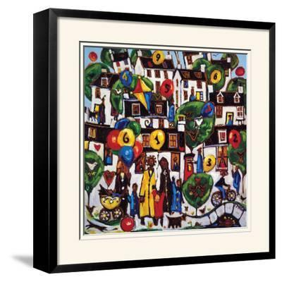 PAINTING BY NUMBERS 2-CHARLES MONTEITH WALKER-Limited Edition Framed Print