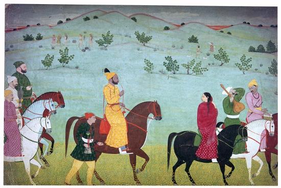 Painting of Mian Mukund Dev of Jasrota, 18th century. Artist: Unknown-Unknown-Giclee Print