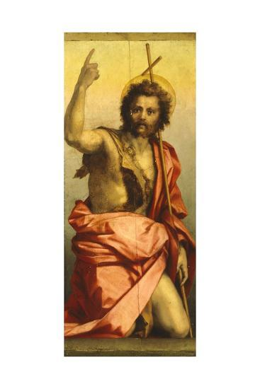Painting of St John the Baptist-Andrea del Sarto-Giclee Print