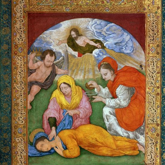 Painting of the martyrdom of St Cecilia, 3rd century. Artist: Unknown-Unknown-Giclee Print