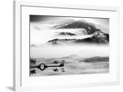 Painting Style of Chinese Landscape for Adv or Others Purpose Use- NH-Framed Photographic Print