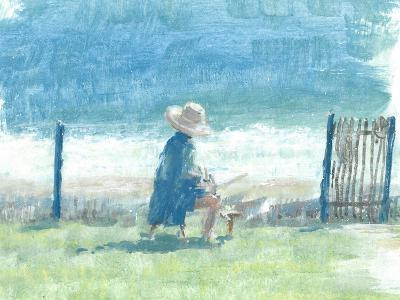 Painting the Sea-Lincoln Seligman-Giclee Print