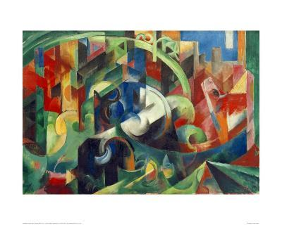 Painting with Cows I-Franz Marc-Giclee Print