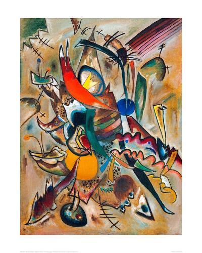 Painting with Points, 1919-Wassily Kandinsky-Giclee Print