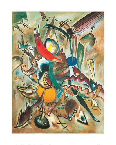 Painting with Spikes, Composition No. 2, 1919-Wassily Kandinsky-Giclee Print