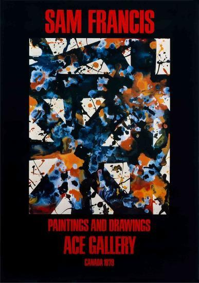 Paintings and Drawings-Sam Francis-Collectable Print