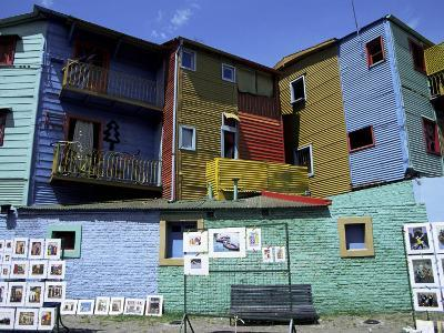 Paintings, La Boca, Buenos Aires, Argentina, South America-Jane Sweeney-Photographic Print