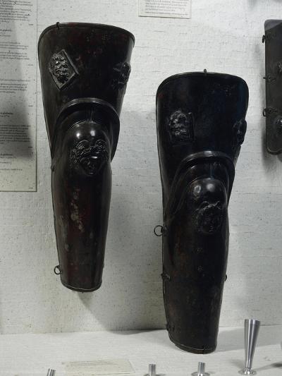 Pair of Bronze Jambs Which Belonged to Gladiator of Thracian Origin--Giclee Print
