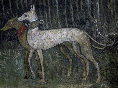 Pair of Greyhounds--Giclee Print