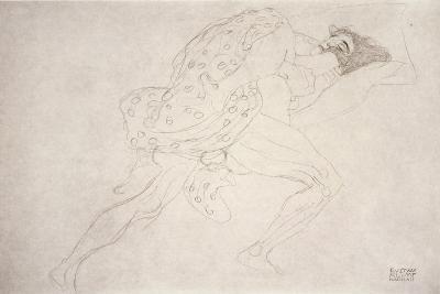 Pair of Lovers-Gustav Klimt-Giclee Print