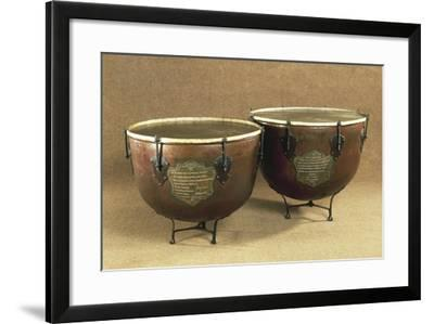 Pair of Timpani, Percussion Instruments--Framed Giclee Print