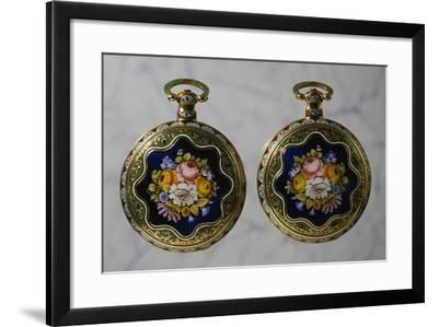 Pair of Watches, 1820-1830--Framed Giclee Print