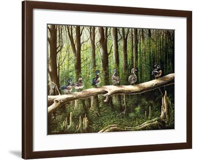 Pairing Up-Bruce Nawrocke-Framed Art Print