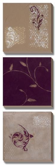 Paisley and Plum I-Rita Vindedzis-Canvas Art Set