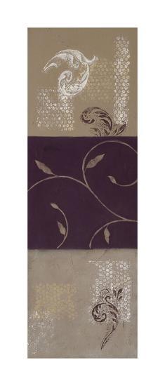 Paisley and Plum II-Rita Vindedzis-Giclee Print