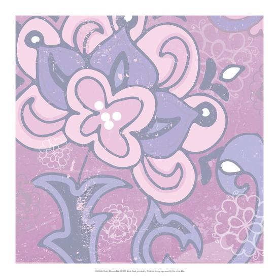 Paisley Blossom Pink I-Leslie Mark-Art Print