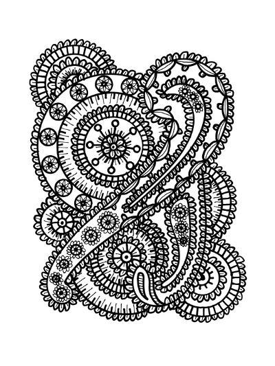Paisley Collage-Laura Miller-Giclee Print
