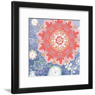 Paisley Faire I-Leslie Mark-Framed Art Print