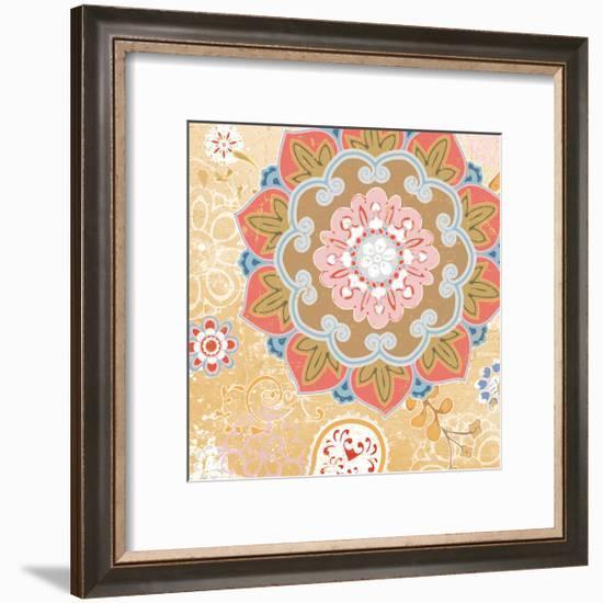Paisley Faire II-Leslie Mark-Framed Art Print