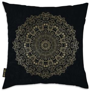 Paisley Mandala Throw Pillow